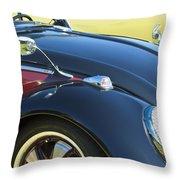 1966 Volkswagen Vw Convertible Bug Throw Pillow