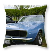 1967 Camaro Throw Pillow