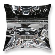 1967 Chevrolet Chevelle Ss Engine 2 Throw Pillow