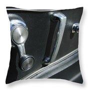 1967 Chevrolet Corvette Door Controls Throw Pillow