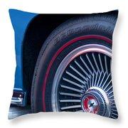 1967 Chevrolet Corvette Wheel 2 Throw Pillow