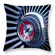 1967 Chevrolet Corvette Wheel Throw Pillow