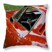 1967 Ferrari 275 Gtb4 Coupe Throw Pillow