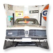 1967 Mercury Cougar Throw Pillow