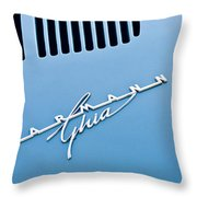 1967 Volkswagen Vw Karmann Ghia Emblem 4 Throw Pillow