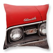 1968 Oldsmobile Cutlass Supreme Throw Pillow