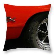 1969 Plymouth Gtx Hemi Throw Pillow
