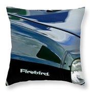 1969 Pontiac Firebird Emblem Throw Pillow