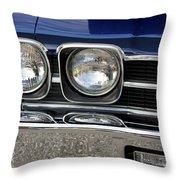 1970 Chevrolet Chevelle Antique Show Car Throw Pillow