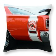 1970 Dodge Super Bee 2 Throw Pillow
