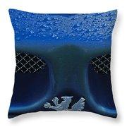 1970 Iso Rivolta Grifo Emblem 2 Throw Pillow