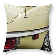 1970 Jaguar Xk Type-e Taillight 2 Throw Pillow