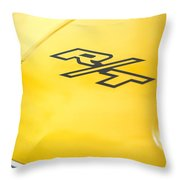 1971 Dodge Challenger Rt Throw Pillow
