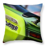 1971 Plymouth Duster Twister Throw Pillow