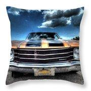 1972 Chevelle Throw Pillow