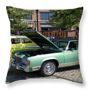 1974 Chrysler Classic Throw Pillow