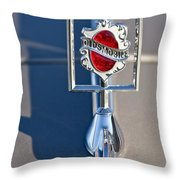 1984 Oldsmobile Hood Ornament Throw Pillow