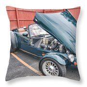 1994 Panoz Roadster Throw Pillow