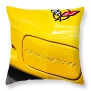 1998 Chevrolet Corvette  Throw Pillow