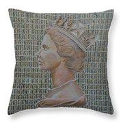 1st Class Queen Throw Pillow
