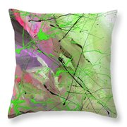1st Symphony Of The Voyage Of The Stars  Throw Pillow