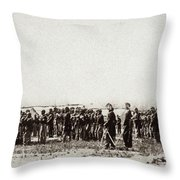 1st U.s. Colored Infantry Throw Pillow