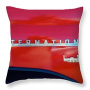 1950 International L-100 Throw Pillow