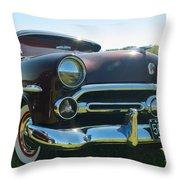1952 Ford Customline Throw Pillow