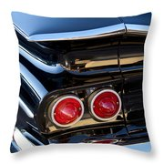 1959 Chevrolet El Camino Taillight Throw Pillow
