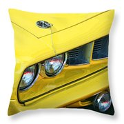 1971 Plymouth Cuda 440 Throw Pillow