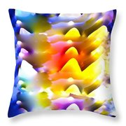 Abstract 61 Throw Pillow