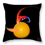 Abstract Twenty-one Throw Pillow