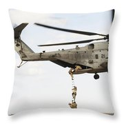 Air Force Pararescuemen Conduct Throw Pillow