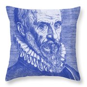 Ambroise Par�, French Surgeon Throw Pillow