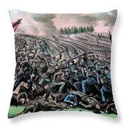 American Civil War, Battle Throw Pillow