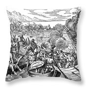 Amerigo Vespucci (1454-1512) Throw Pillow
