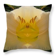 Angelic Lily Throw Pillow