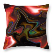 Art Abstract Throw Pillow