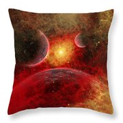 Artist Concept Illustrating The Stellar Throw Pillow
