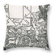 Astrology Throw Pillow by Science Source