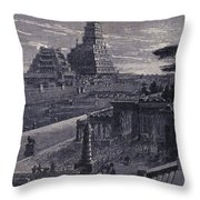 Babylon Throw Pillow by Photo Researchers