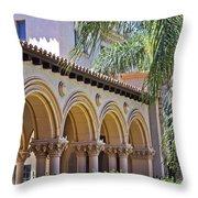 Balboa Park Arches Throw Pillow