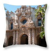 Balboa Park San Diego Throw Pillow