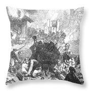 Balkan Insurgency, 1876 Throw Pillow