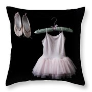 Ballet Dress Throw Pillow