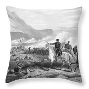 Battle Of Buena Vista, 1847 Throw Pillow by Granger