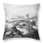 Battle Of Chapultepec, 1847 Throw Pillow