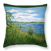 Bayville 1 Throw Pillow