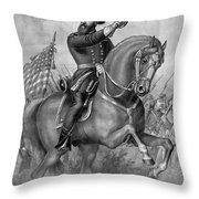 Benjamin Harrison, 23rd American Throw Pillow