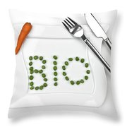 Bio Throw Pillow